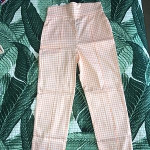 Pinup Girl Clothing High Waisted Pants in Gingham